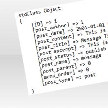 PHP: Migliorare l'output della funzione print_r