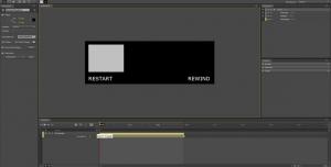 Adobe Edge Tutorial: Restart, Rewind and infinite Loop #7
