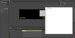 Adobe Edge Tutorial: Restart, Rewind and infinite Loop #8