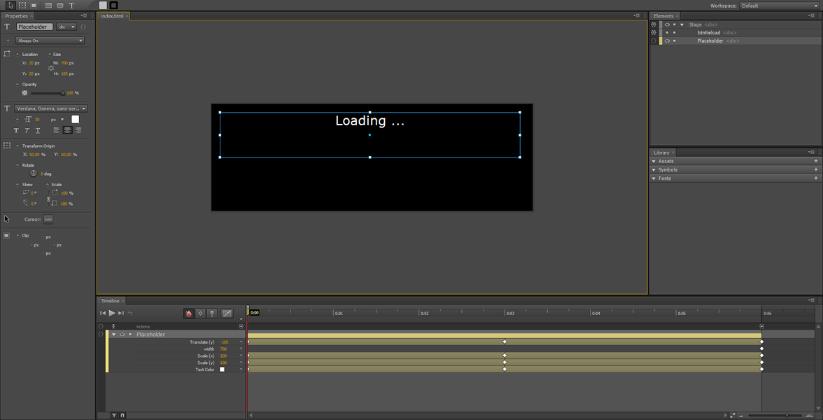 Adobe Edge Tutorial: dynamic content using Ajax #1