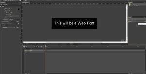 Web Fonts in Edge Animate - Introduzione