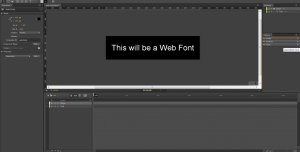 Web Fonts in Edge Animate - Introduction