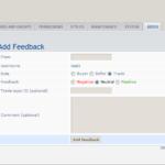 phpBB MOD 3.0.x - ShMk User Feedback - ACP - Insert feedback